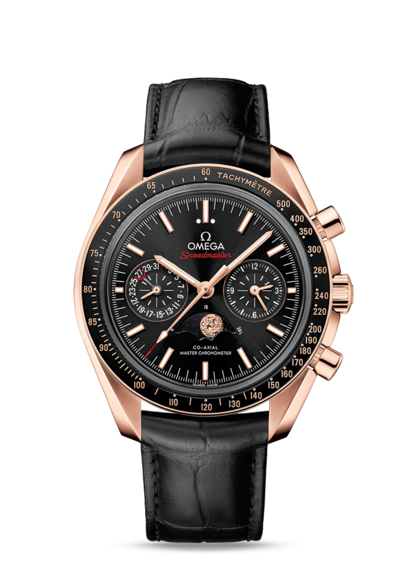 Omega Speedmaster Moonwatch Co-Axial Master Chronometer Moonphase Chronograph 304.63.44.52.01.001