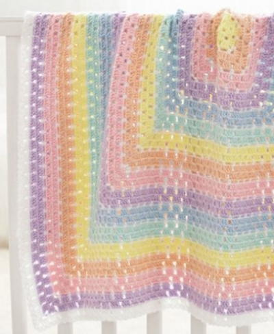 c3b7d4658 40+ Quick and Easy Crochet Baby Blanket Patterns ...