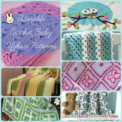 34 Adorable Crochet Baby Afghan Patterns