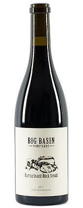 Big Basin Rattlesnake Rock Syrah 2012