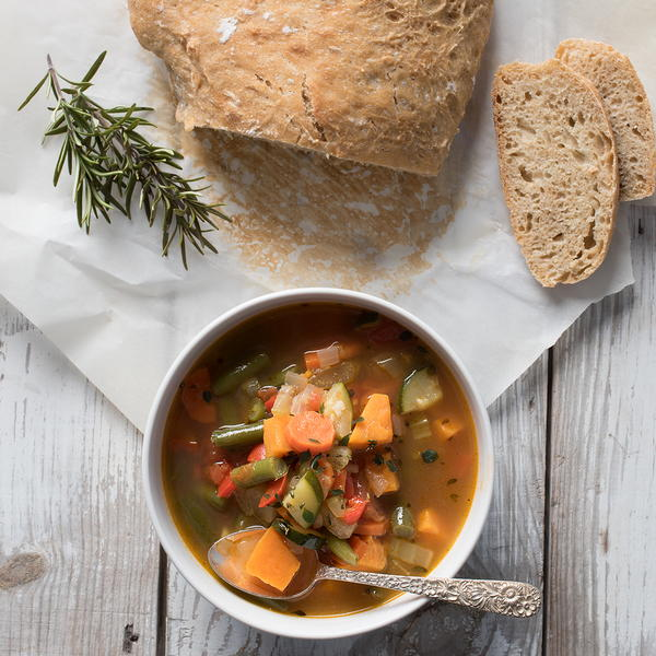 Old Bay Spicy Vegetable Soup (Boost Your White Blood Cell Count)