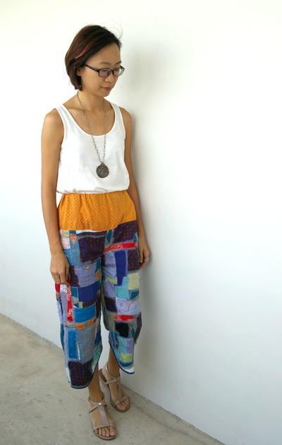 Kinsugi Inspired Trousers
