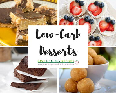 13 Low Carb Desserts Our Favorite Simple Healthy Recipes