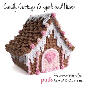 Candy Cottage Gingerbread House
