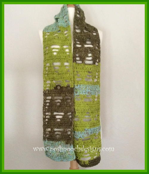 Whispering Pines Scarf