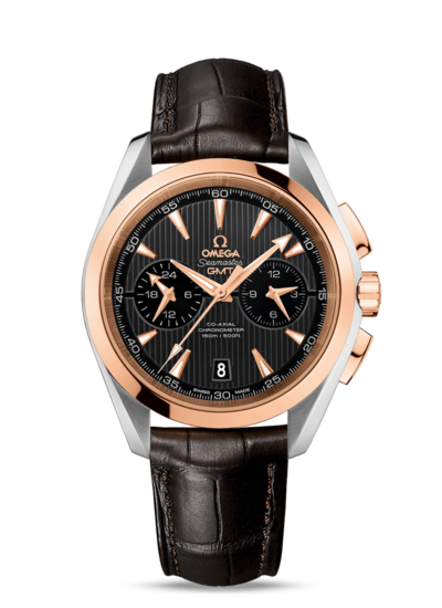 Omega Seamaster Aqua Terra 150m Co Axial Gmt Chronograph