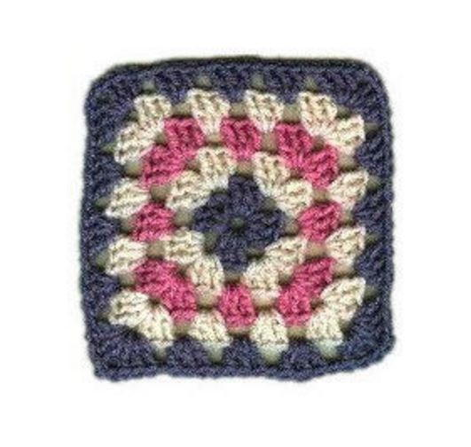 Basic Crochet Granny Square