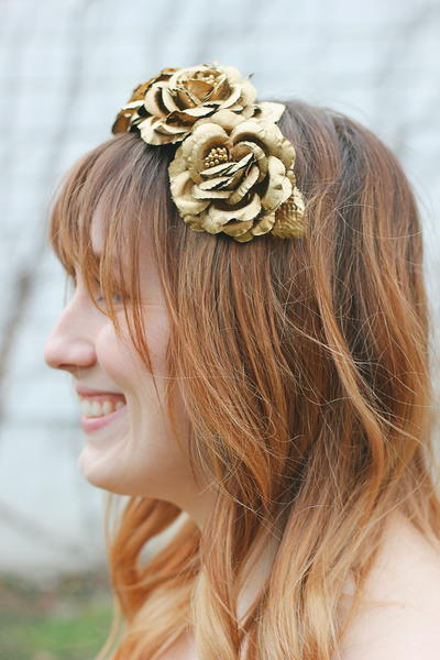 Floral Easter DIY Headbands