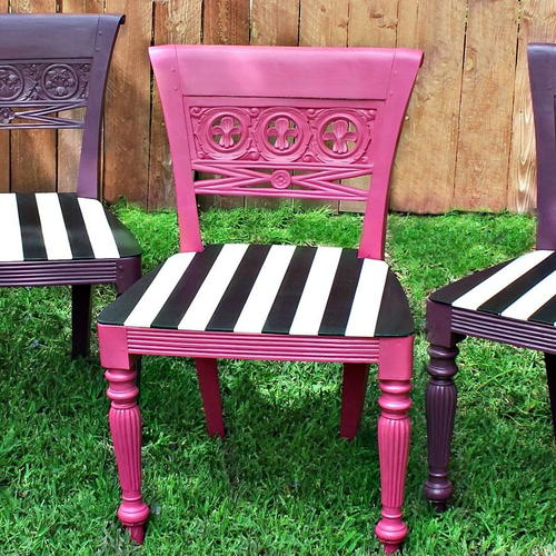 Easy Outdoor Chair Makeover