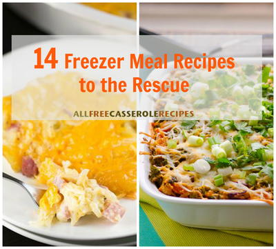 14 Freezer Meal Recipes to the Rescue