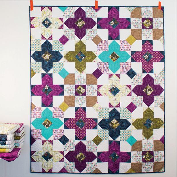 Pocket Full Of Posies Quilt Pattern Favequilts Com