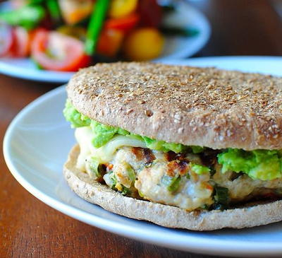 Copycat Trader Joe's Chili Lime Chicken Burgers