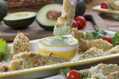 Crispy Avocado Wedges