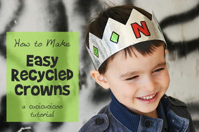 DIY Recycled Crowns