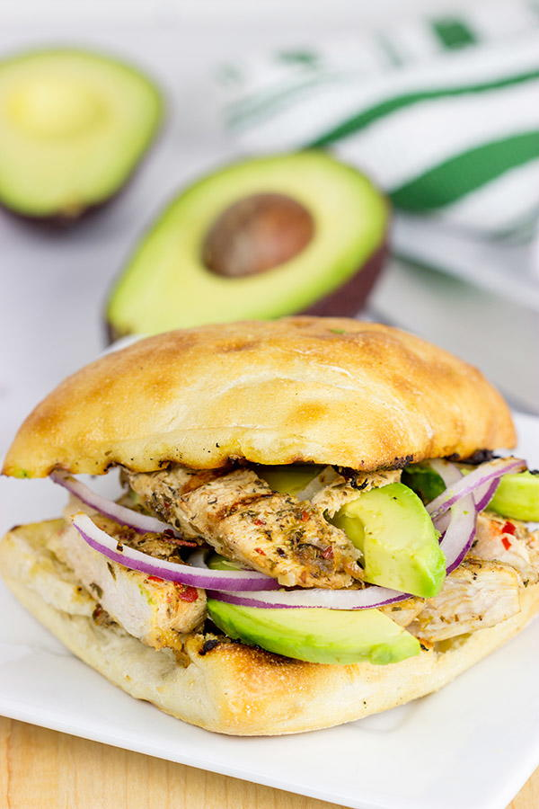 Grilled Jerk Chicken Sandwich Recipelion Com