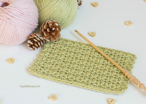 Crochet The Back And Front Loop Single Crochet Stitch