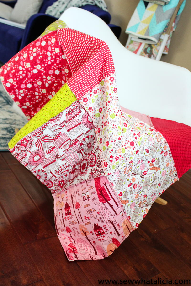 Cheater Rag Quilt Tutorial Favequilts Com
