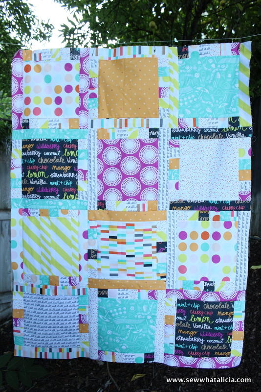 Flavor of Summer Quilt Tutorial