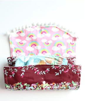 Diaper Clutch and Waterproof Changing Mat