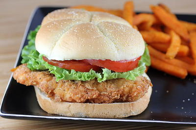 Copycat Wendys Spicy Chicken Sandwich Recipe