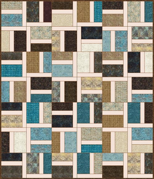 Italian Marble Quilt Pattern