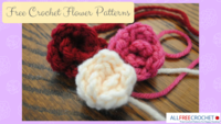 21 Free Crochet Flower Patterns + Daisy Video
