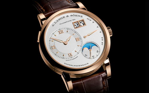 A Lange and Sohne Lange 1 Moon Phase