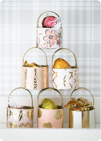 Easter Toilet Roll DIY Baskets