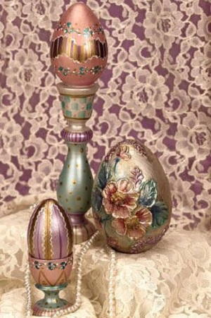 Dazzling Painted Easter Eggs