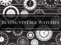 How to Buy Vintage Watches on eBay