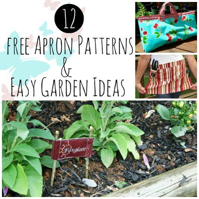 Garden Patterns Ideas 12 free apron patterns & easy garden ideas | allfreesewing