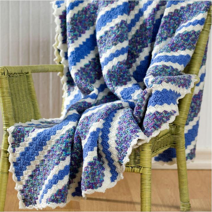 Corner to Corner Crochet Throw ...