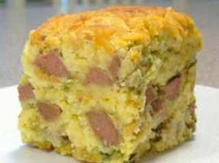 Kids Corn Dog Casserole