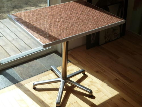 Amazing DIY Penny Table