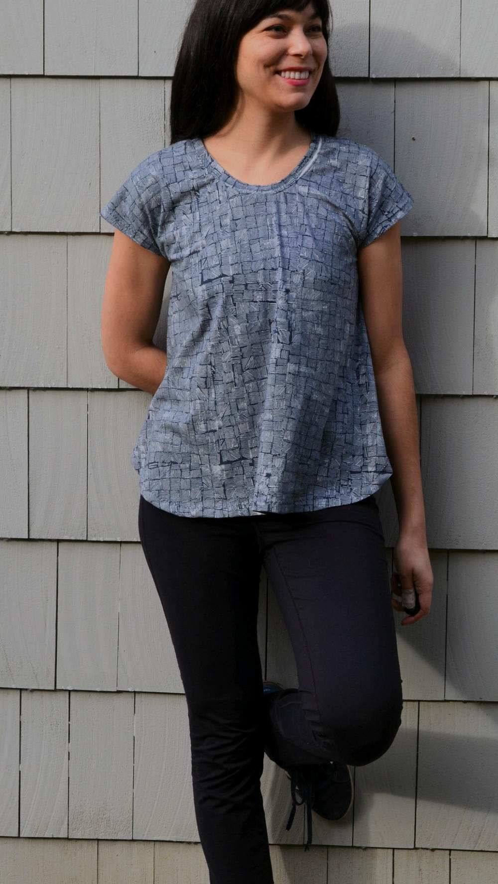 Cap Sleeve Knit Top   AllFreeSewing.com