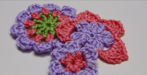 DIY Crochet Flowers 3 Ways