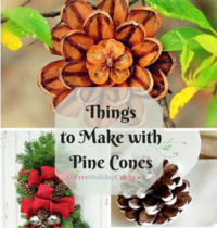 Nature Crafts: 23 Things to Make With Pine Cones