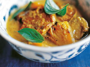 Coconut Ham Curry with Pineapple