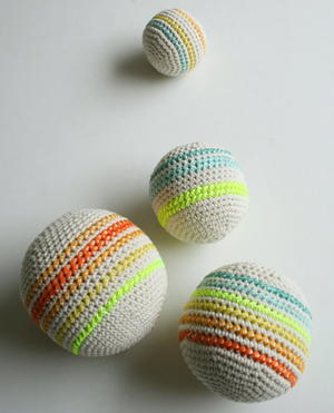 Simple As Can Be Crochet Balls