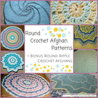 10+ Round Crochet Afghan Patterns