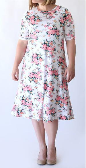 Easy Tee Swing Dress Pattern
