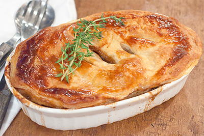 Irish Beef and Stout Pie