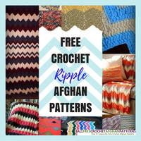 26 Free Crochet Ripple Afghan Patterns
