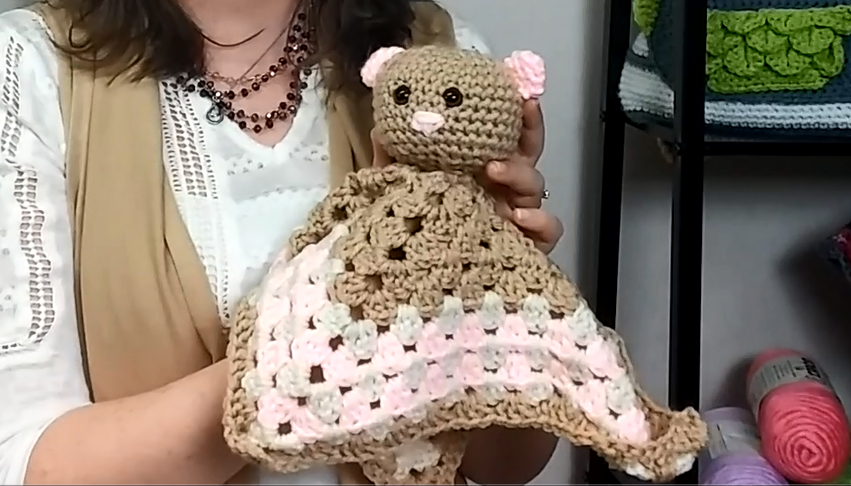 Adorable Bear Lovie Blanket Favecrafts Com