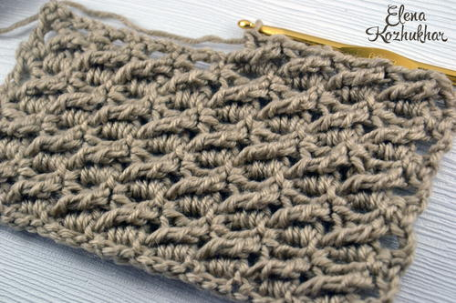 Rainfall Crochet Stitch