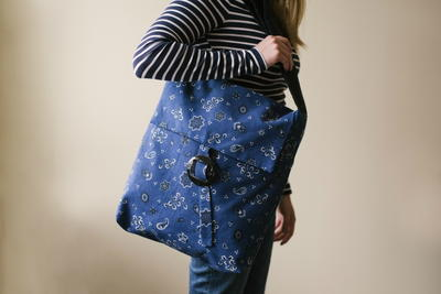 10 Minute Sewn Tote Bag