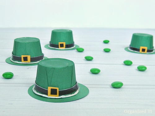 St. Patrick's Day Leprechaun Hat Treat Cups