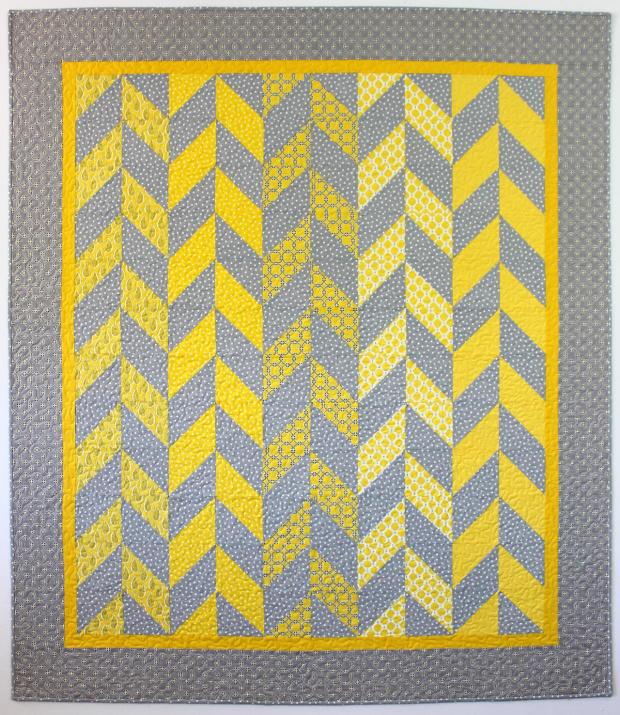 Modern Herringbone Quilt Pattern Favequilts Com