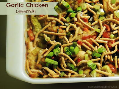 Stir Fry Chicken Casserole