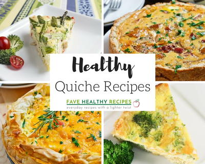 10 Healthy Quiche Recipes